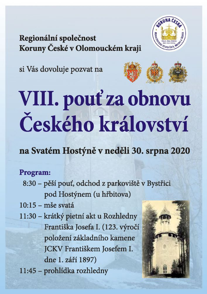 Hostyn 2020 pozvanka