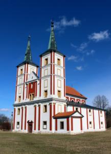 Exterier kostela